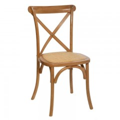 Chaise bistrot (crossback)