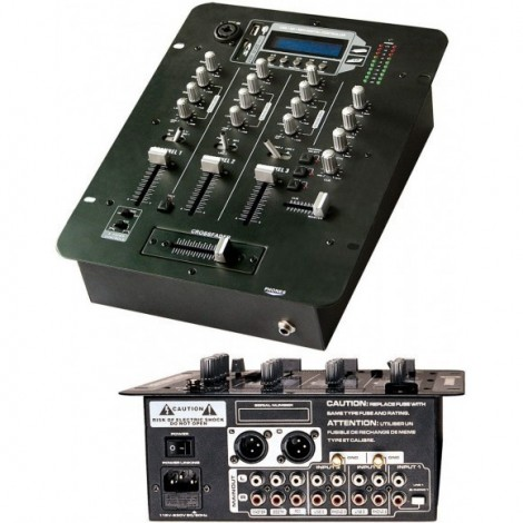 Table de Mixage DJ - TSX602 MP3